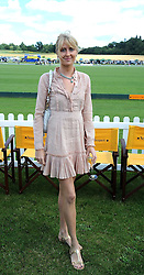 LADY EMILY COMPTON at the 2008 Veuve Clicquot Gold Cup polo final at Cowdray Park Polo Club, Midhurst, West Sussex on 20th July 2008.<br /> <br /> NON EXCLUSIVE - WORLD RIGHTS