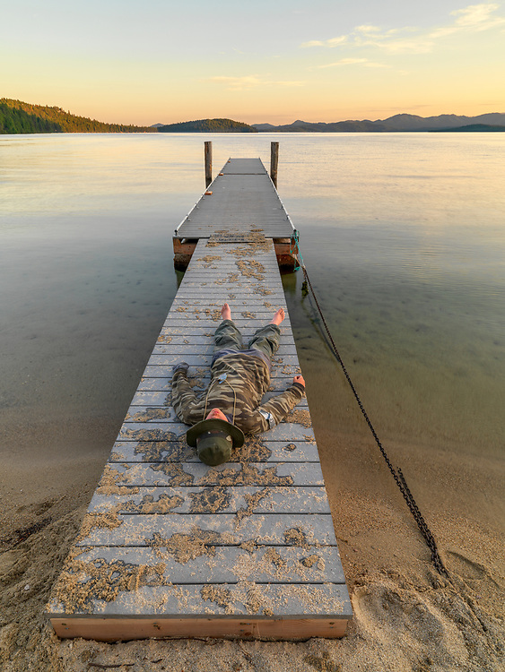 American West, Idaho, adventure, boy, concept, destination, lake, summer, travel, water
