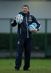 November 20, 2018 - Rome, Italy - Rugby Italy training - Cattolica Test Match.Assisten coach Marius Goosen at Giulio Onesti Sport Center in Rome, Italy on November 20, 2018. (Credit Image: © Matteo Ciambelli/NurPhoto via ZUMA Press)