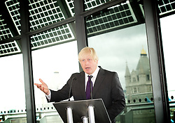 Boris Johnson<br /> Mayor of London unveils his vision for London's future<br /> 11 June 2013<br /> City Hall, London Great Britain <br /> <br /> The Mayor of London, Boris Johnson will outline his agenda to secure London's future as the best big city in the world and his vision for the capital's growth as a key driver of the UK economy.<br />  <br /> To mark the publication of his '2020 Vision - The Greatest City on Earth; Ambitions for London by Boris Johnson', the Mayor will address an audience of business leaders, government and borough representatives, as well as key London employers and opinion formers.<br /> <br /> Boris Johnson <br /> Mayor of London <br /> <br /> <br /> Photograph by Elliott Franks