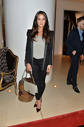 ROXIE NAFOUSI at the launch of hidden bar 'Blind Spot' at St.Martin's Lane Hotel, St.Martin's Lane, London on 6th May 2015.