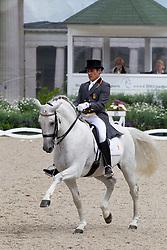 Munoz Diaz Juan Manuel - Fuego de Cardenas<br /> World Equestrian Festival, CHIO Aachen 2011<br /> © Hippo Foto - Leanjo de Koster