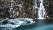 Sigoldufoss waterfall is in the highlands of South Iceland.
