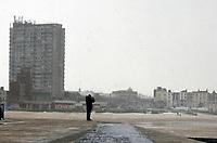 Storm Darcy hits Margate, UK photo by Krisztian Kobold Elek
