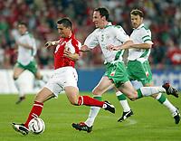 Der Schweizer Alexandre Rey gegen Irlands Andy O`Brien.<br /> © Daniela Frutiger/EQ Images<br /> <br /> NORWAY ONLY