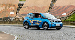 Pictured: Ruth Davidson<br /> Scottish Conservative leader Ruth Davidson launched the party's environment paper today in Edinburgh.  As part of Scottish Environment Week, she was joined by shadow environment secretary Maurice Golden in driving an electric BMW i3 car<br /> <br /> Ger Harley | EEm 22 February 2017