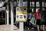 MERTHYR TYDFIL, Wales- 15 MAY 2020: Trago Mills superstore re opens its doors after weeks of closures due to the covid19 pandemic lockdown.