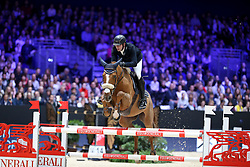 Budd Nathan, BEL, Cadix Des Rosiers<br /> LONGINES FEI Jumping World Cup™ - Lyon 2019<br /> © Hippo Foto - Julien Counet<br /> 03/11/2019