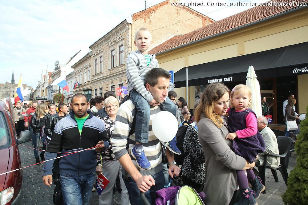 Dna 22. septembra sa konal prvy Narodny pochod za zivot. Zucastnilo sa ho viac ako 80 000 ludi z celeho Slovenska.