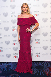 © Licensed to London News Pictures. 18/11/2016. STEPHANIE PRATT attends the Chain Of Hope Annual Ball raising awareness and helping children with heart conditions in third world countries. London, UK. Photo credit: Ray Tang/LNP
