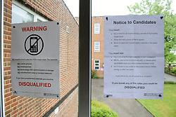 Exam rules, secondary school UK 2018
