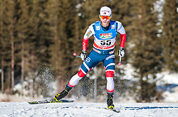 27.01.2018, Nordic Arena, Seefeld, AUT, FIS Weltcup Langlauf, Seefeld, Langlauf, Herren, im Bild Martin Johnsrud Sundby (NOR) // Martin Johnsrud Sundby of Norway // during Mens Cross Country Race of the FIS World Cup at the Nordic Arena in Seefeld, Austria on 2018/01/27. EXPA Pictures © 2018, PhotoCredit: EXPA/ JFK