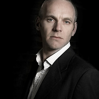Mark Blundell, Portrait, Strobist self portrait