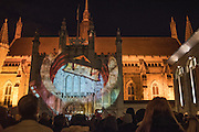 Shakespeare son et Lumiere, Guildhall, City of London. 4 March 2016