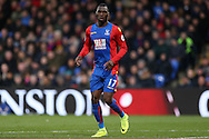 Christian Benteke of Crystal Palace looking on. Premier League match, Crystal Palace v Manchester city at Selhurst Park in London on Saturday 19th November 2016. pic by John Patrick Fletcher, Andrew Orchard sports photography.