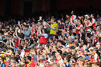 Football - 2021 / 2022 Women's Super League - Arsenal vs Chelsea - Emirates Stadium - Sunday 5th September 2021<br /> <br /> Arsenal fans applauding the team.<br /> <br /> COLORSPORT/Ashley Western