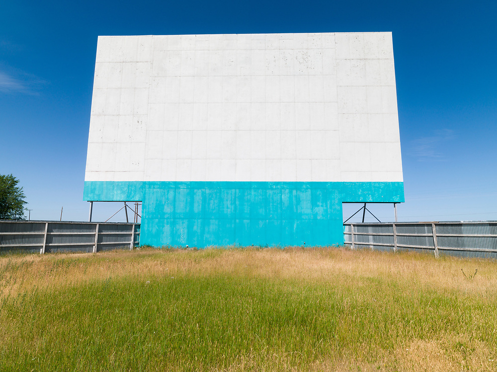 Limited Edition Prints<br /> An American icon The Drive In Theatre near Rexburg Idaho