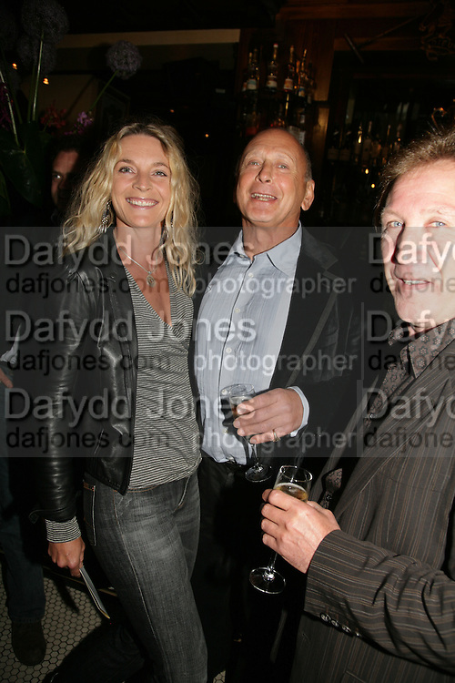 Kira Franck, Brian Stein, PJ's Annual Polo Party . Annual Pre-Polo party that celebrates the start of the 2007 Polo season.  PJ's Bar & Grill, 52 Fulham Road, London, SW3. 14 May 2007. <br /> -DO NOT ARCHIVE-© Copyright Photograph by Dafydd Jones. 248 Clapham Rd. London SW9 0PZ. Tel 0207 820 0771. www.dafjones.com.