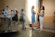 HELENE KLAUSNER; ALEXANDRA HOMAN; DEDE JOHNSTON, Tate Summer Party. Celebrating the opening of the  Fiona Banner. Harrier and Jaguar. Tate Britain. Annual Duveens Commission 29 June 2010. -DO NOT ARCHIVE-© Copyright Photograph by Dafydd Jones. 248 Clapham Rd. London SW9 0PZ. Tel 0207 820 0771. www.dafjones.com.