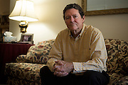 Ed Hagan poses for a portrait at his home in Dallas, Texas on August 5, 2016. (Cooper Neill for The Texas Tribune)