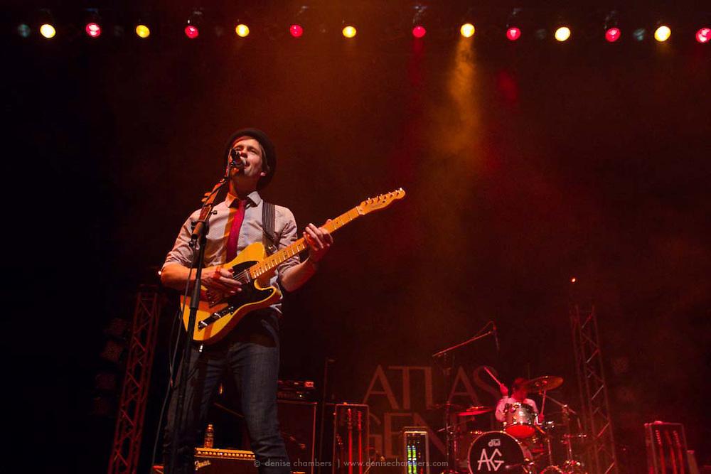 Atlas Genuis performs on 24 March, 2013 at the Pikes Peak Center in Colorado Springs, Colorado