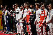 April 15-17, 2016: Chinese Grand Prix, Shanghai, F1 drivers before the Chinese Grand Prix