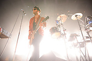Chromeo performing at the Pageant in St. Louis on October 24, 2011.