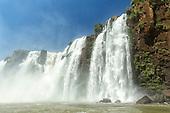Iguazu falls, Argentina, Brazil,