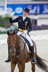 Lutkemeier Fabienne (GER) - D Agostino 5<br /> Havens Pferdefutter Preis<br /> World Equestrian Festival, CHIO Aachen 2014<br /> © Hippo Foto - Leanjo de Koster
