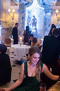 KAT BLACK;, Ball at to celebrateBlanche Howard's 21st and  George Howard's 30th  birthday. Dress code: Black Tie with a touch of Surrealism. Castle Howard. Yorkshire. 14 November 2015