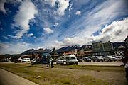 Cityscape of Ushuaia, Argentina