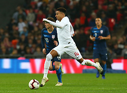 November 15, 2018 - London, United Kingdom - England's Jesse Lingard in Action .during the friendly soccer match between England and USA at the Wembley Stadium in London, England, on 15 November 2018. (Credit Image: © Action Foto Sport/NurPhoto via ZUMA Press)