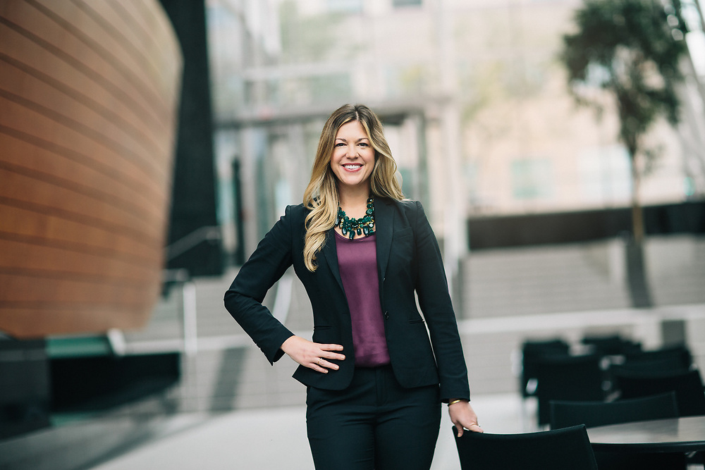 04 October 2018– Brooke Smithberg is photographed at FNB Tower for FNB.