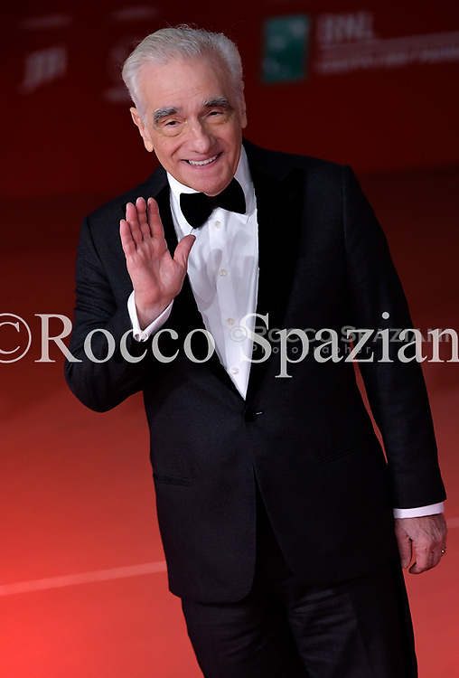 Martin  Scorsese  attends a photocall during the 13th Rome Film Fest at Auditorium Parco Della Musica on October 22, 2018 in Rome, Italy.