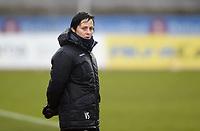 Fotball , 28. april 2017 ,   Toppserien ,  Stabæk - Grand Bodø<br /> trner Vanja Stefanovic , Stabæk