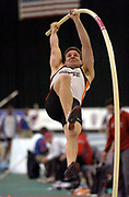Scott Slover was 13th in the pole vault in the USA Track & Field Indoor Championships at the Reggie Lewis Track & Athletic Center at Roxbury Community College on Saturday, Feb. 28, 2004