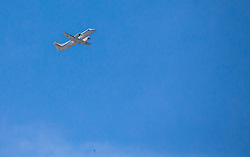 Airplane, on August 6, 2016 in Portoroz/Portorose, Slovenia. Photo by Vid Ponikvar / Sportida