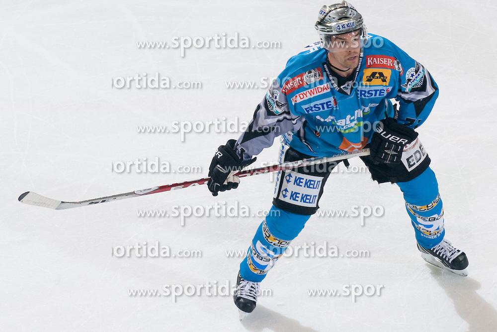Patrick Leahy (EHC Liwest Black Wings Linz, #71) at during ice-hockey match between HDD Tilia Olimpija and EHC Liwest Black Wings Linz in 18th Round of EBEL league, on November 5, 2010 at Hala Tivoli, Ljubljana, Slovenia. (Photo By Matic Klansek Velej / Sportida.com)