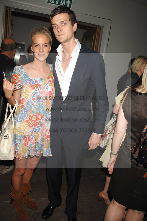 LADY LOUISA COMPTON and the HON.ALEXANDER SPENCER-CHURCHILL at a party to celebrate the launch of the Boodles Wonderland jewellery collection held at the Haymarket Hotel, 1 Suffolk Place, London on 9th June 2008.<br /><br />NON EXCLUSIVE - WORLD RIGHTS