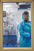Ste0098599 . Daily Telegraph<br /> <br /> DT News<br /> <br /> Covid <br /> <br /> Inside the ICU at Ealing Hospital which is currently over capacity with 10 patients .<br /> <br /> Ealing Hospital currently has 170 Covid patients 10 of which are in the Intensive Care Unit .<br /> <br /> Ealing is a district general hospital and part of London North West University Healthcare NHS Trust, located in the Southall district of the London Borough of Ealing in West London .<br /> <br /> London 22 January 2021