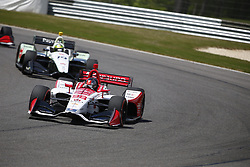 April 23, 2018 - Birmingham, Alabama, United States of America - MARCO Andretti (98) of the United States battles for position through the turns during the Honda Grand Prix of Alabama at Barber Motorsports Park in Birmingham, Alabama. (Credit Image: © Justin R. Noe Asp Inc/ASP via ZUMA Wire)