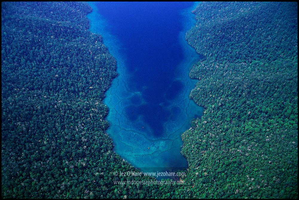 Coast of Morowali National Park, Central Sulawesi, Indonesia.