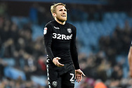Leeds United midfielder Samu Saiz (21) dejected after the full time whistle during the EFL Sky Bet Championship match between Aston Villa and Leeds United at Villa Park, Birmingham, England on 13 April 2018. Picture by Alan Franklin.