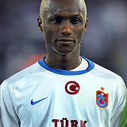 Trabzonspor's Ibrahima YATTARA during their Turkish superleague soccer match Trabzonspor between Kasimpasaspor at the Kocaeli Ismetpasa Stadium in Izmit Turkey on Saturday, 12 March 2011. Photo by TURKPIX