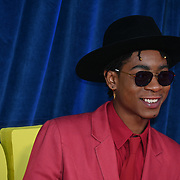 """RJ Cyler attended """"The Harder They Fall"""" Opening Night Gala - 65th BFI London Film Festival, Southbank Centre, London, UK. 6 October 2021."""