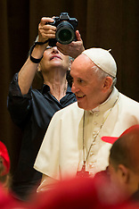 Annie Leibovitz photographs Pope Francis - 10 June 2018
