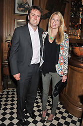 MR CHARLIE & LADY MARIA WIGAN at a party to celebrate the launch Mr Fogg's, 15 Bruton Lane, London W1 on 21st May 2013.