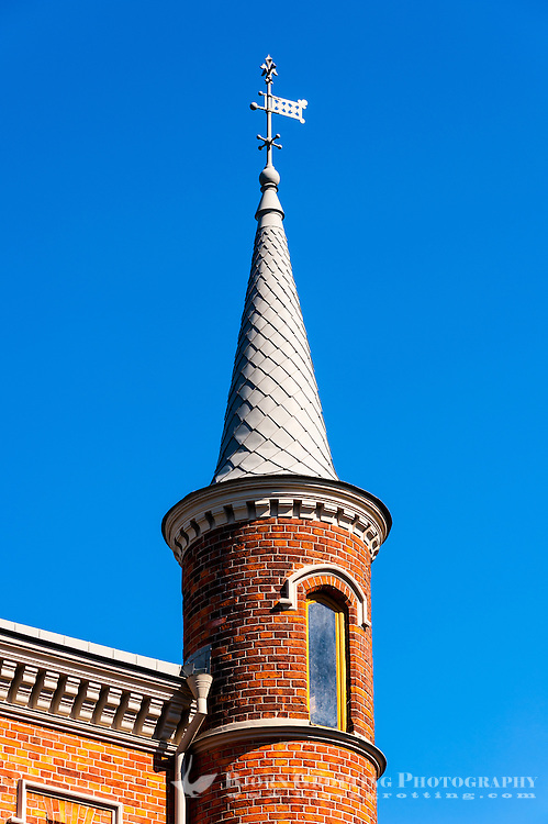 Sweden, Stockholm. Skridskopaviljongen on Kastellholmen.