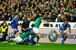 February 3, 2018 - Saint Denis, Seine Saint Denis, France - The Wing of French Team VIRIMI VAKATAWA in action during the NatWest Six Nations Rugby tournament between France and Ireland at the Stade de France - St Denis - France..Ireland Won 15-13 (Credit Image: © Pierre Stevenin via ZUMA Wire)