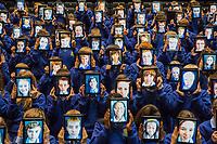 No Repro Fee<br /> 27/08/2013<br /> 50 Irish schools and over 5,000 students to use Wriggle 'digital' schoolbags<br /> Picture shows over 100 first year students from St Joseph's Secondary School in Rush, Co. Dublin who received their Wriggle digital Schoolbags at the Helix.<br /> Pic: Naoise Culhane - no fee<br /> Wriggle, Ireland's leading digital learning specialists today announced that they havemore than doubled roll-out to schools with an additional 25 schools joining the Wriggle 1:1 mobile learning programme this academic year. 50 schools and more than 5,000 students throughout the country will now use mobile devices and digital books in place of traditional textbooks. Wriggle was founded in 2012 as the digital learning arm of Irish IT services firm Typetec following 20+ years as a trusted partner to the education sector.<br /> Pic: Naoise Culhane / No Fee<br /> For Business Desk